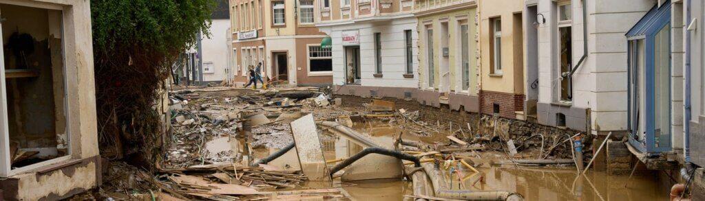 Schade Overstroming vaak niet gedekt op de inboedelverzekering en opstalverzekering
