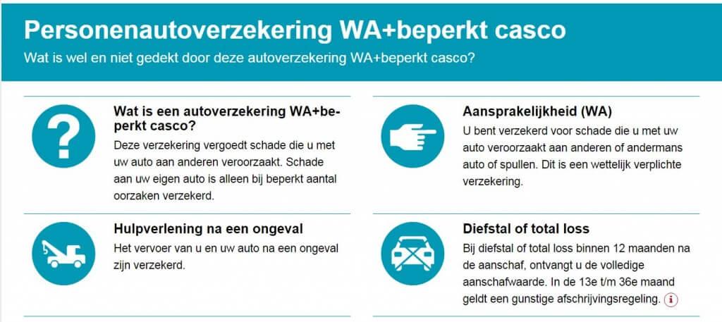 Verzekeringskaart Autoverzekering - Wat is wel en wat is niet gedekt